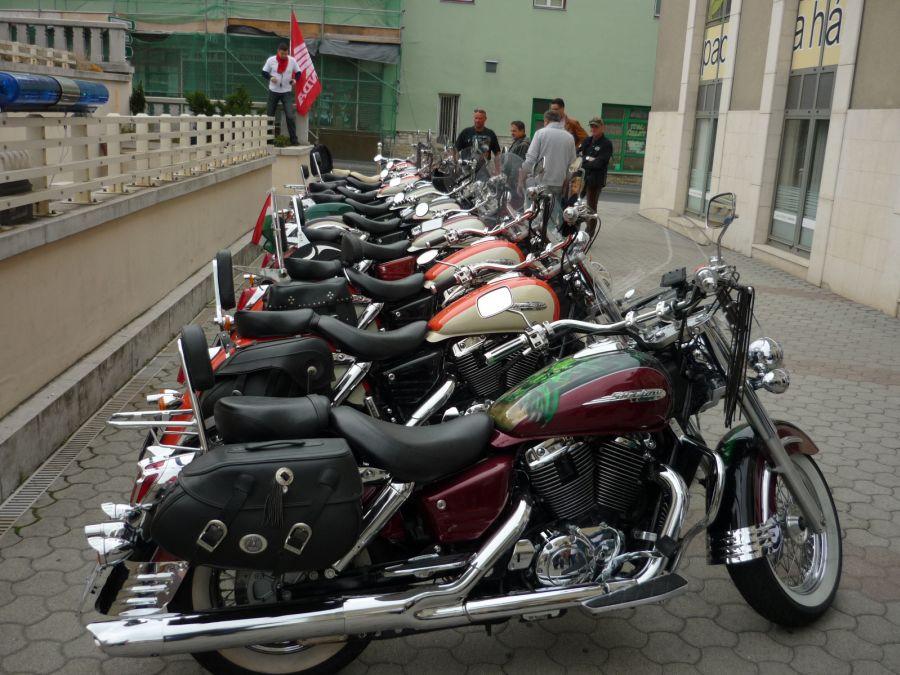 The First Honda Vt 1100 C3 Meeting In Hungary Tihany Veszprem